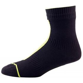 Sealskinz Run Thin ankle Socks black/yellow